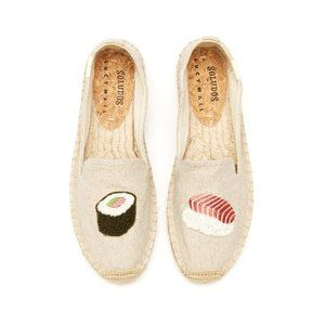 Soludos x Lucy Mail Sushi Platform Slipper 7.5 New